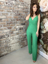 Load image into Gallery viewer, Out Til Dawn Jumpsuit (Green)
