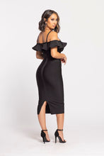 Load image into Gallery viewer, Here She Comes Dress (Black)
