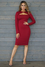 Load image into Gallery viewer, On To The Next Dress (Burgundy)