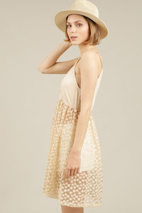 Honey Gold Lace Cami