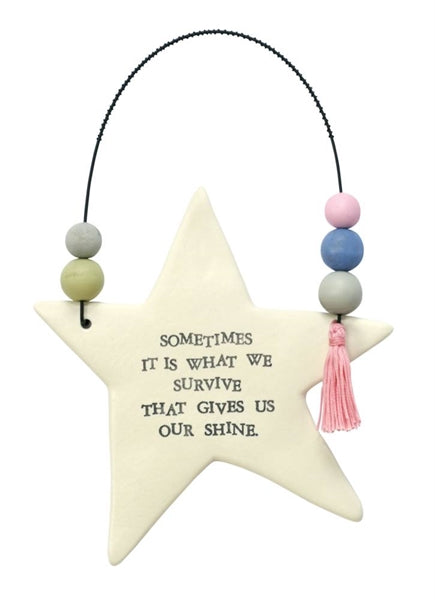 Hanging Shining Star Decor