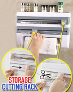 Load image into Gallery viewer, 4 in 1 Wall-Mount Paper Towel Holder