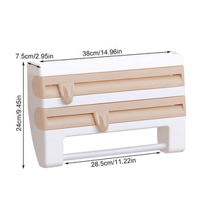 4 in 1 Wall-Mount Paper Towel Holder