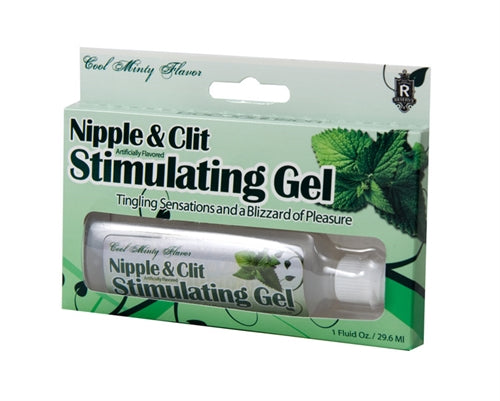 Nipples and Clit Stimulating Gel - Mint - My sheree and More