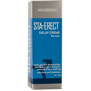 Sta-Erect Delay Cream for Men - 2 Oz. - Boxed - My sheree and More