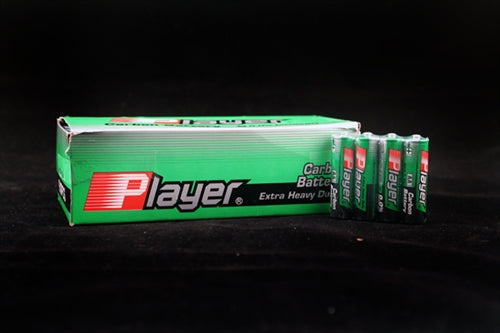Player Extra Heavy Duty AA Batteries - 60 Count Box - My sheree and More