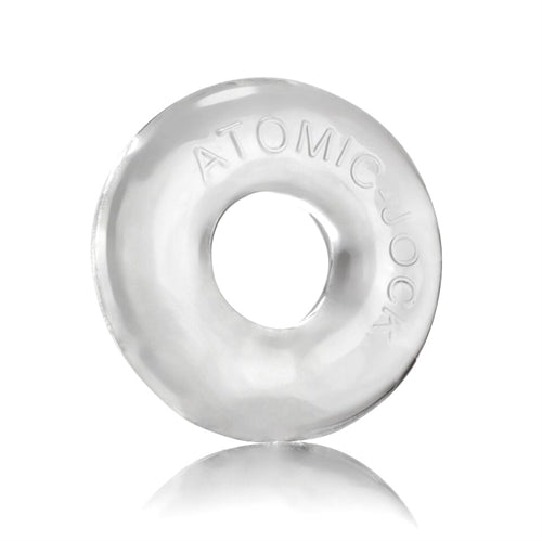 Do-Nut-2 Large Atomic Jock Cockring - Clear - My sheree and More