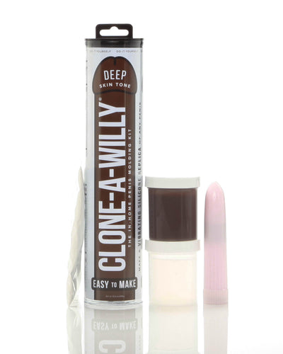 Clone-a-Willy Kit - Deep Skin Tone - My sheree and More