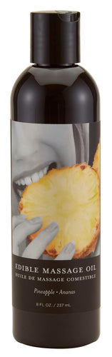 Edible Massage Oil 8 Oz. - Pineapple - My sheree and More