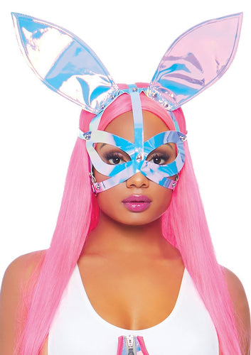 Halloween Holographic Bunny Ear Mask - My sheree and More