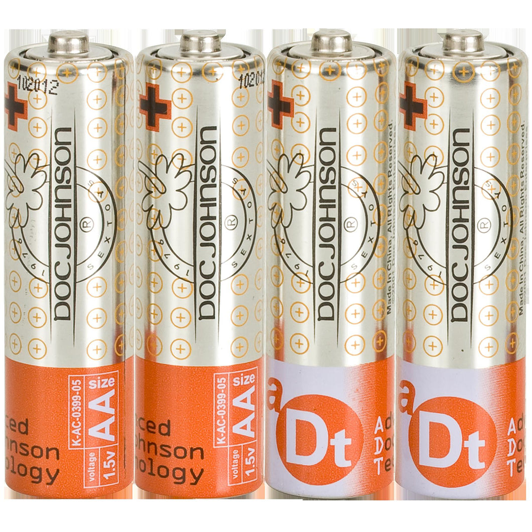 Doc Johnson Batteries - AA - 4 Pack - My sheree and More