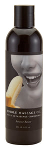 Edible Massage Oil 8 Oz. - Banana - My sheree and More