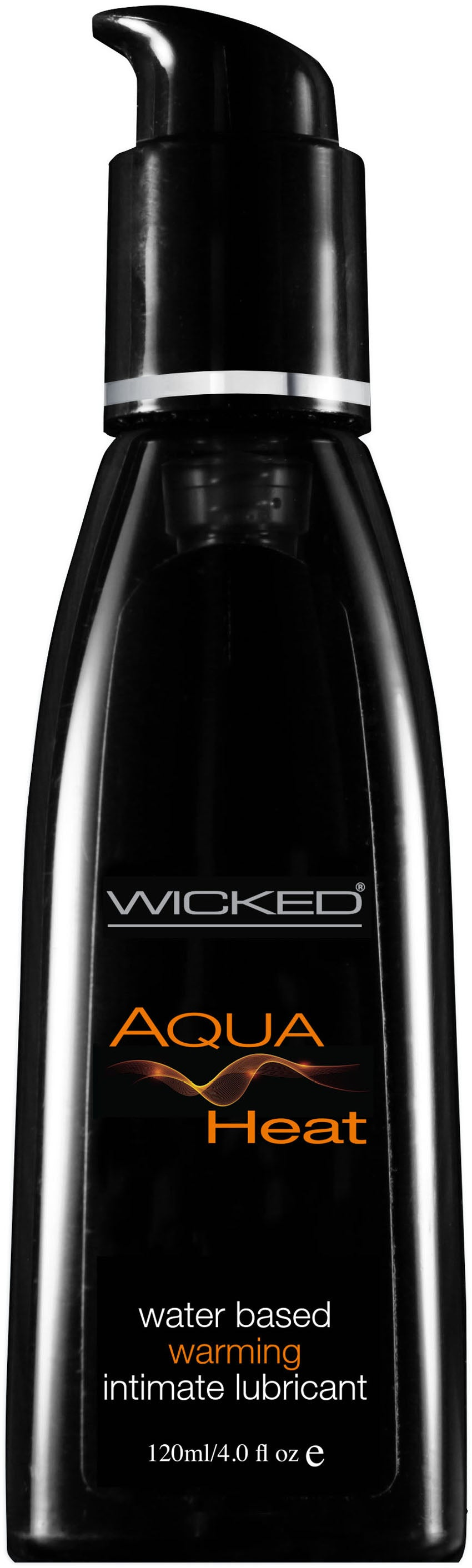 Wicked Aqua Heat Water Based Warming Lubricant 4.0 Oz - My sheree and More