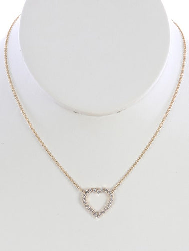 Heart Shaped Knecklace