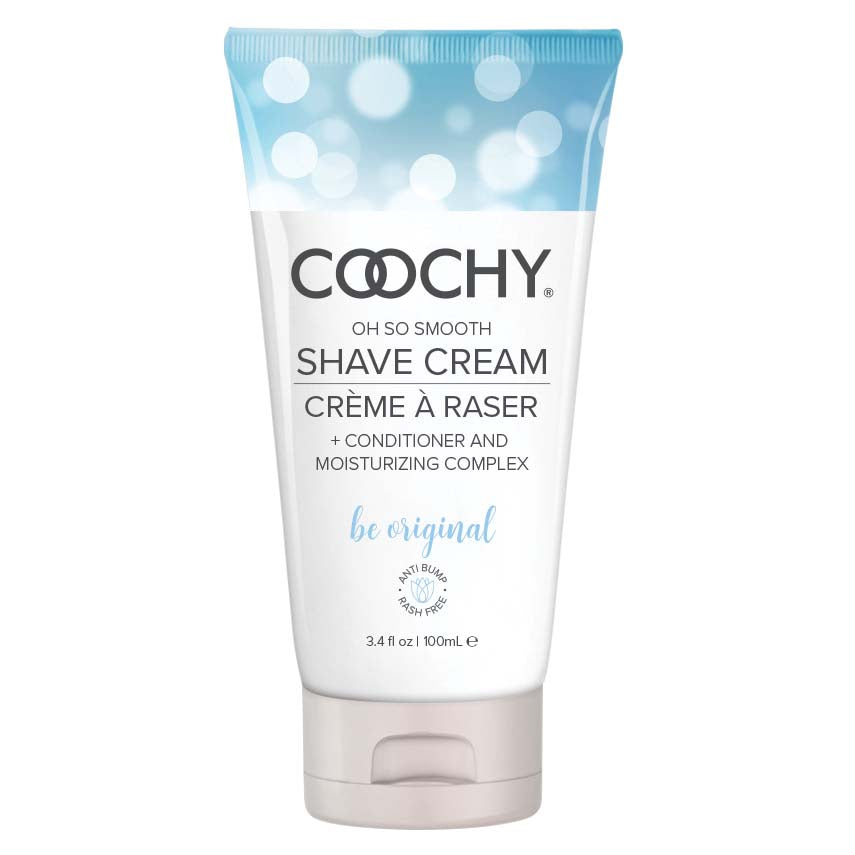 Coochy Shave Cream - Be Original - 3.4 Oz - My sheree and More