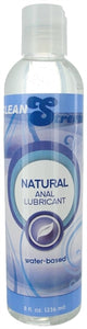 Natural Water Based Anal Lubricant 8 Oz - My sheree and More