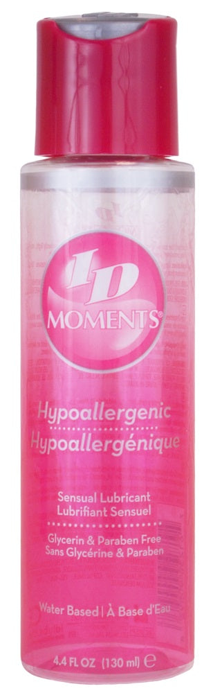 ID Moments Hypoallergenic Water Based Lubricant 4.4 Fl Oz. / 130ml - My sheree and More