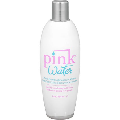 Pink Water Based Lubricant for Women 8 Oz Flip Top Bottle - My sheree and More