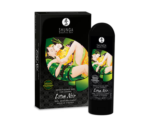 Lotus Noir - Sensitizing Gel for Lovers - 2 Fl.  Oz. / 60 ml - My sheree and More