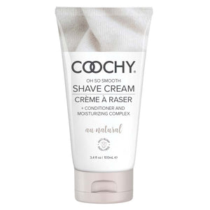 Coochy Shave Cream - Au Natural - 3.4 Oz - My sheree and More