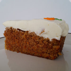 Carrot cake with cream cheese frosting from Fríða Kaffihús