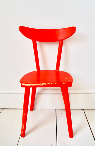 The Ketchup Chair