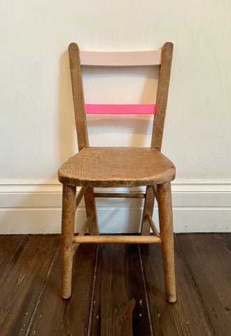The Wink - vintage, painted child's chair
