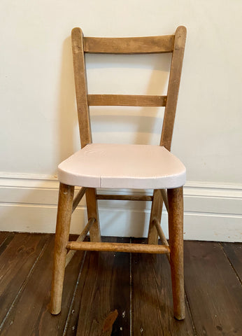 The Ballet - vintage, painted child's chair