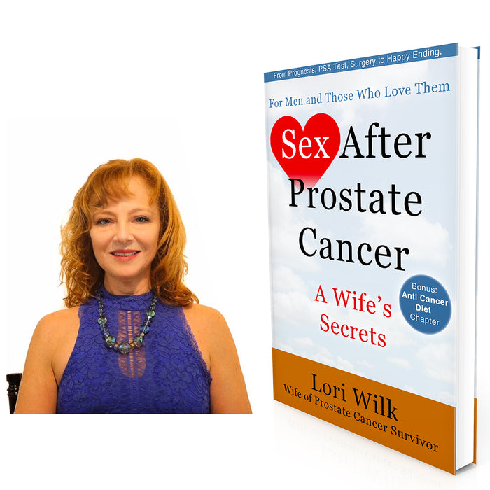 LORI WILKS THE AUTHOR OF SEX AFTER PROSTATE CANCER INTERVIEWS MARK SCHNEIDER THE CEO OF THE ELATOR