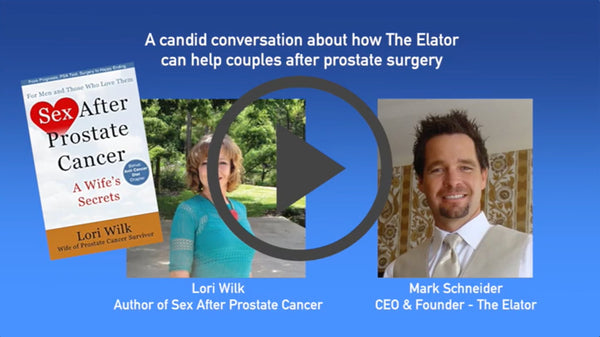 Lori Wilk the Author of Sex After Prostate Cancer Interviews Mark Schneider - CEO of The Elator