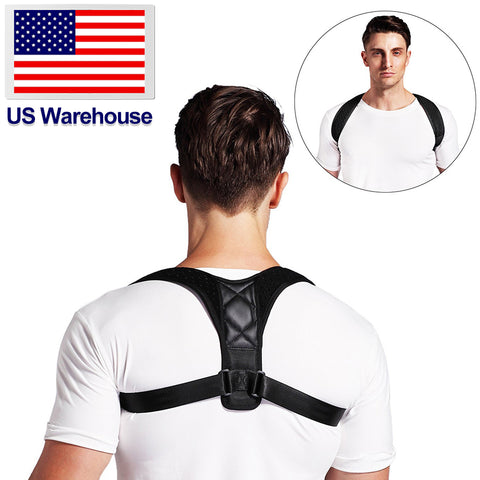 Adjustable Support Back Shoulder Lumbar
