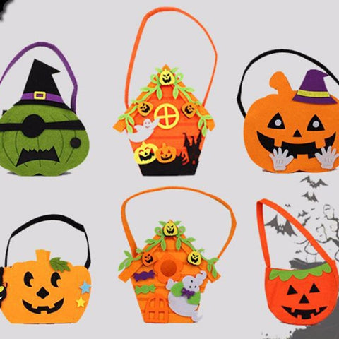 Trick Treat Pumpkin Bag  For Halloween