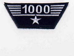 Flight Hours Patch - 1,000 hours