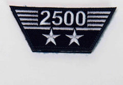 Flight Hours Patch - 2,500 hours