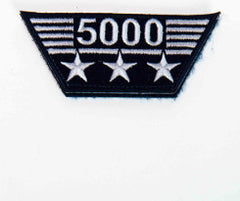 Flight Hours Patch - 5,000 hours