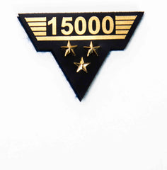 Flight Hours Patch - 15,000 hours