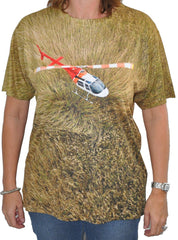 T-shirt - hover in ground effect