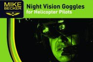 Night Vision Goggles for Helicopter Pilots