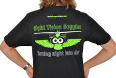 T-shirt - Night Vision Goggles Owl