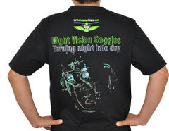 T-shirt - Night Vision Goggles abstract design
