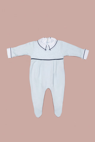 Light Blue Babygrow Set for Boys and Girls