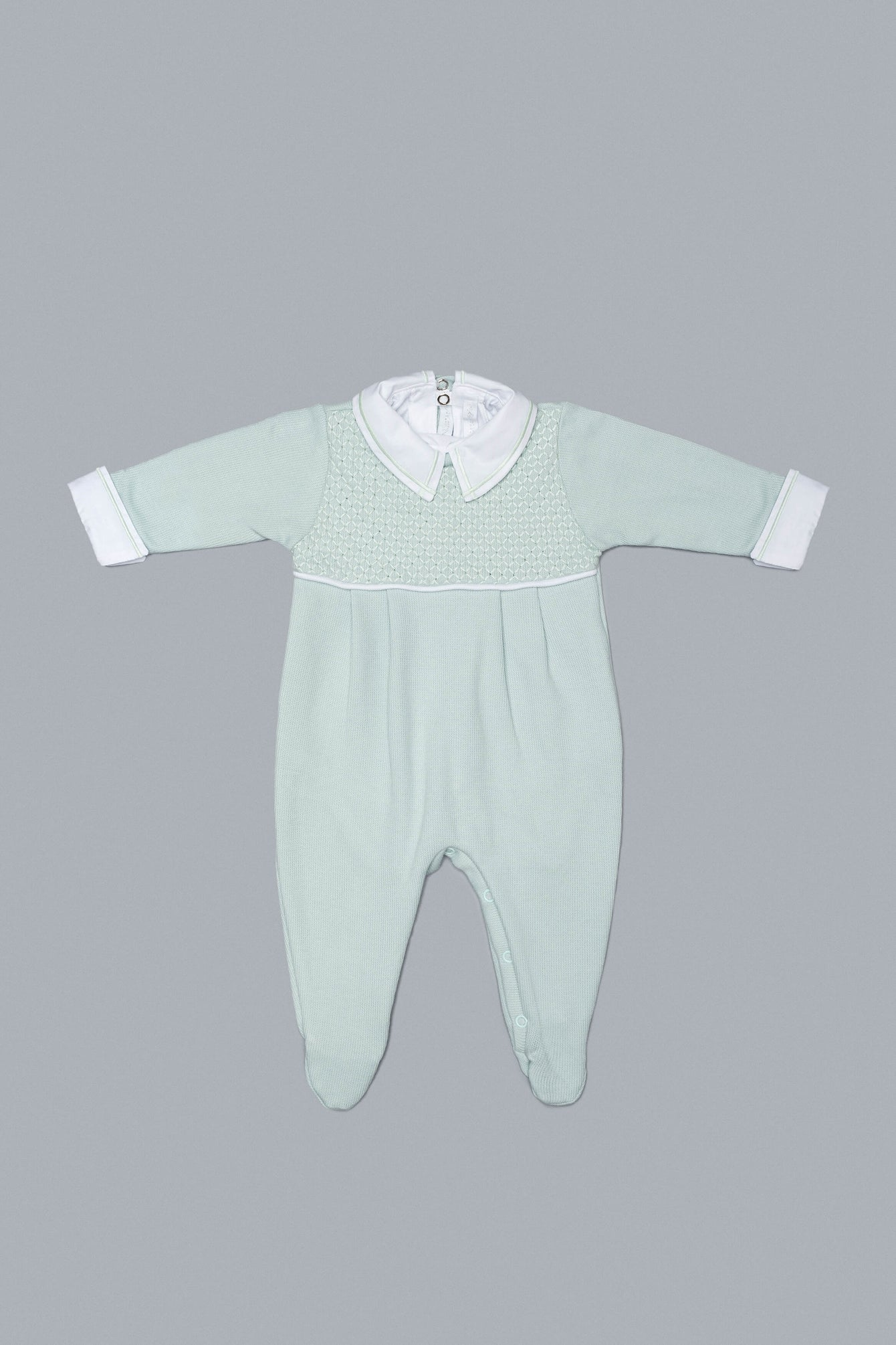 Light Green Babygrow Set for Boys and Girls
