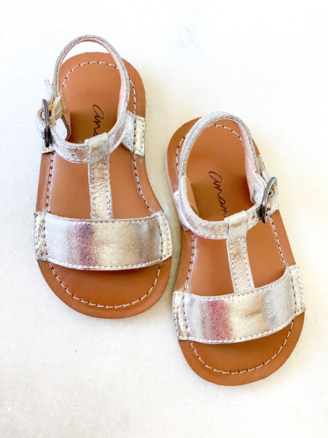 Lily Silver Sandals