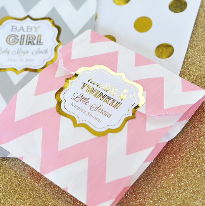 Personalized Goodie Bags (set of 12) - Baby