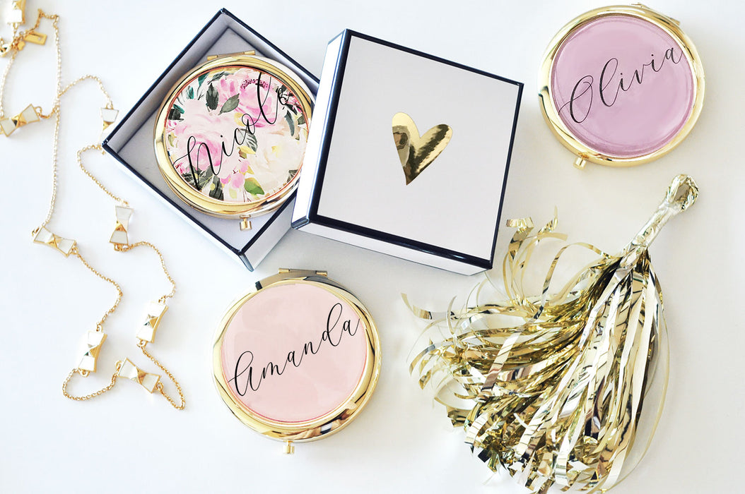 Personalized Compacts with Name
