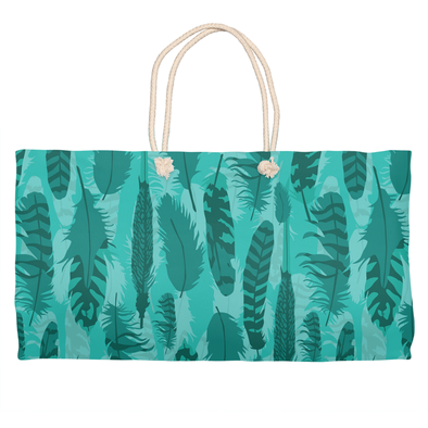 The Wanderer Teal Weekender Tote