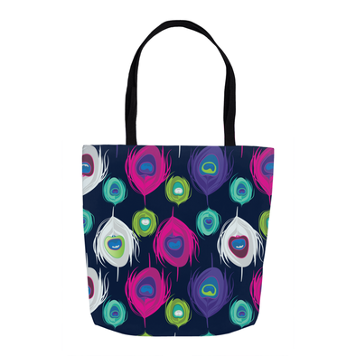 Peacock Splash Tote