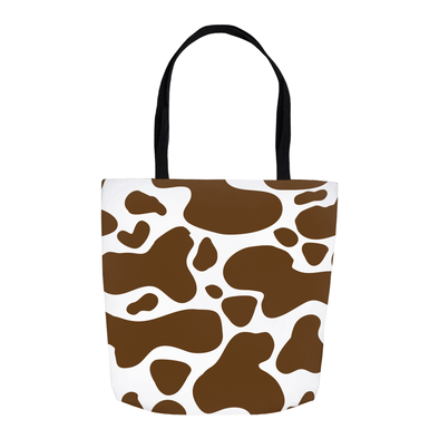 Cowhide Brown Tote