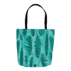 The Wanderer Teal Tote