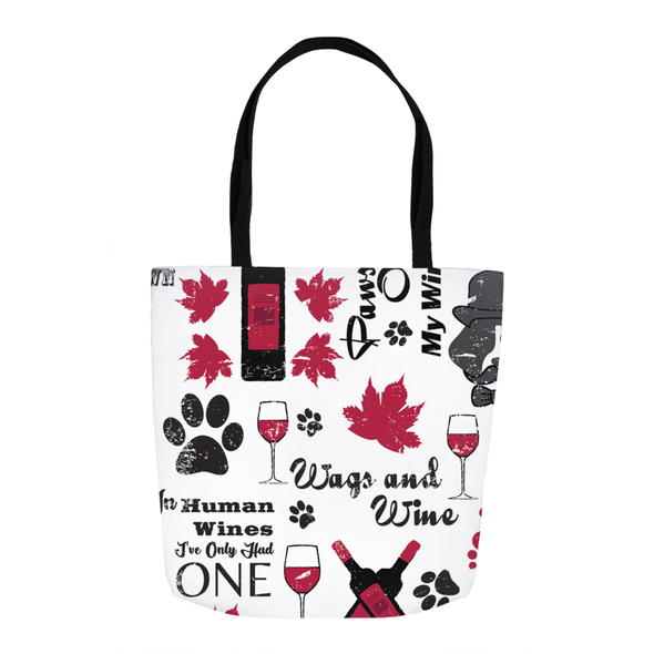 Wags and Wine Tote